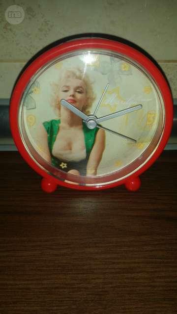 Reloj Despertador Marilyn Monroe