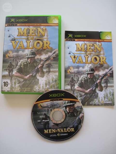 MEN OF VALOR X-BOX (PAL) COMO NUEVO