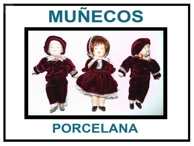 Lote Muñecos Porcelana