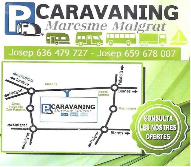 PARQUING PARA CARAVANAS MARESME-MALGRAT