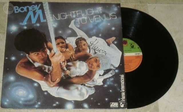 LP NIGHFLIGHT TO VENUS - BONEY M