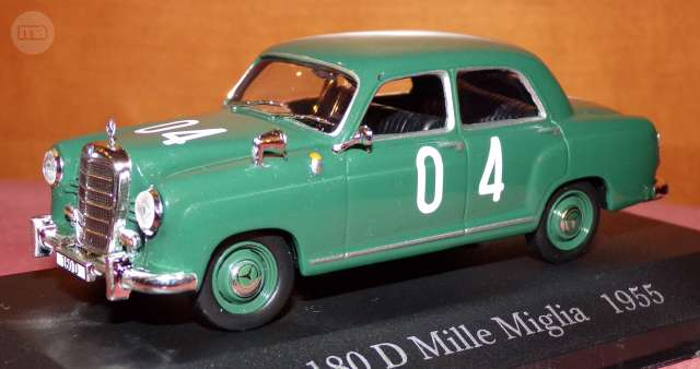 Mercedes 180 D Rallye Mille Miglia 1955