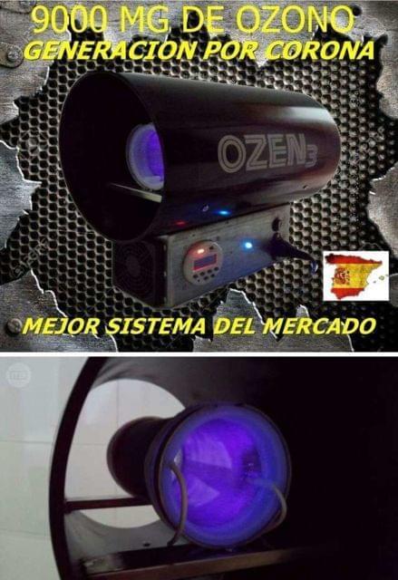 PURIFICADOR AIRE OZONO CULTIVO GROW
