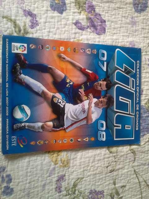 Album De Cromos Liga 2007-2008.Este