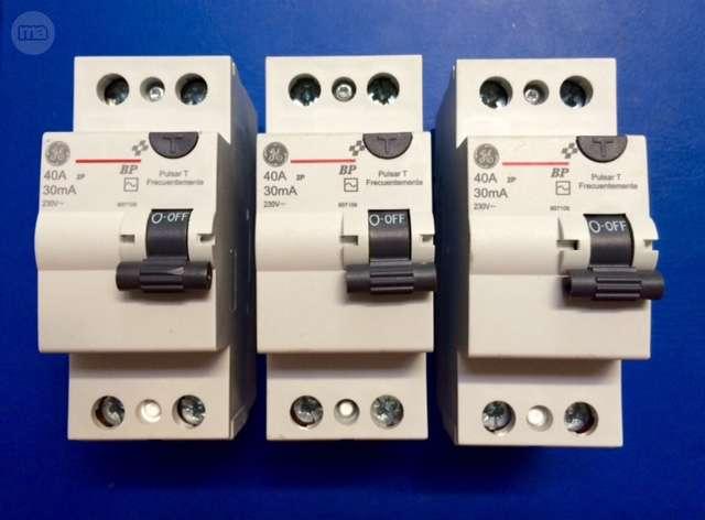 Interruptores Diferenciales 40A