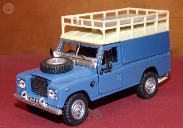 Land Rover 109 Safari Escala 1:43 De Hon