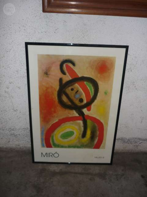 LITOGRAFIA DE MIRO - foto 1
