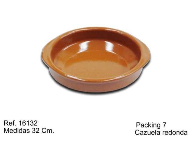 CAZUELA DE BARRO 26 CM.