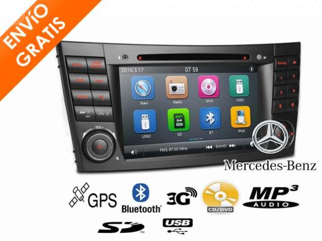 RADIO CD DVD NAVEGADOR GPS BT MERCEDES