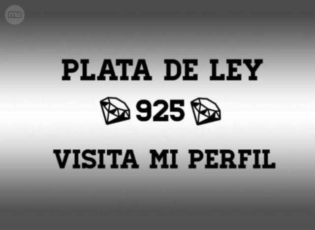 JOYAS: PLATA PURA DE LEY 925.