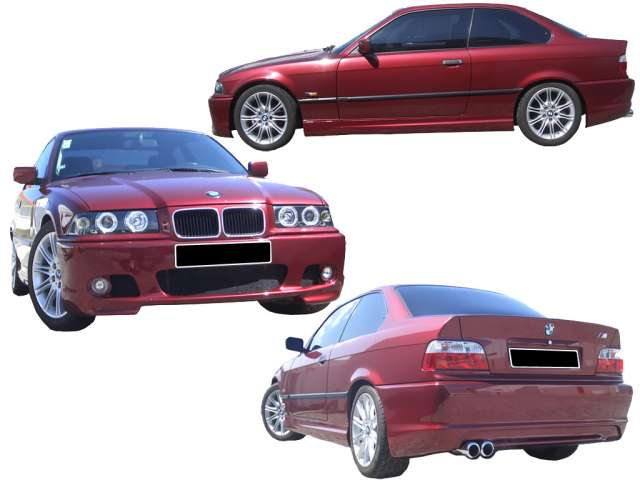 KIT DE FIBRA PARA BMW E36, LOOK E46 M
