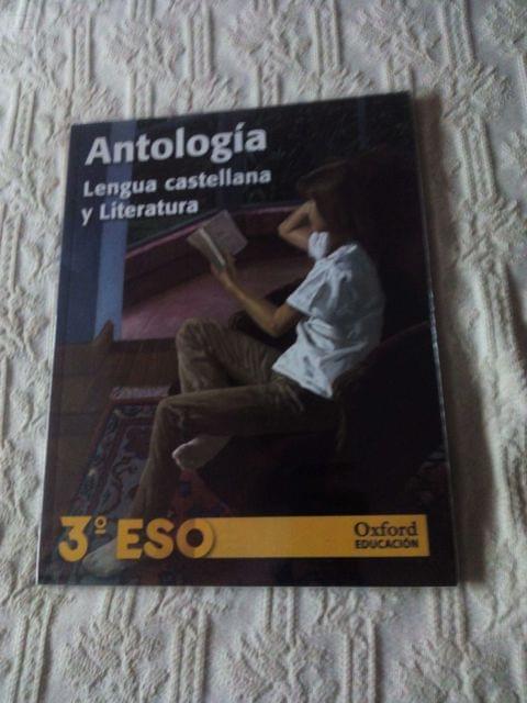 ANTOLOGÍA LENGUA CASTELLANA Y LITERATURA