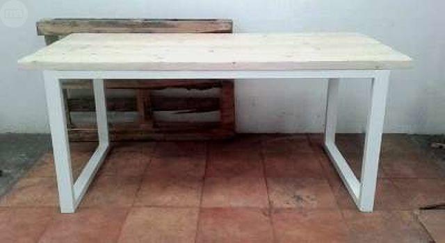 Mesas De Cocina Segunda Mano. Mesa De Madera Plegable. Mesa Y Sillas ...