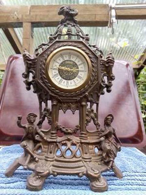 Reloj Antiguo De Bronce