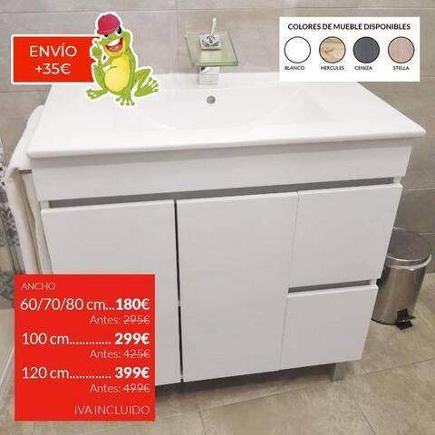 Accesorios De Baño Milanuncios:mueble de baño en oferta 25 oct conjunto mueble de baño aseo