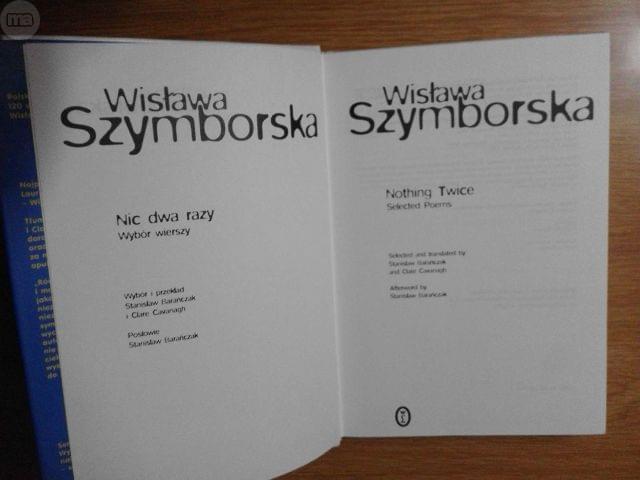 Wislawa Szymborska Antología Bilingüe