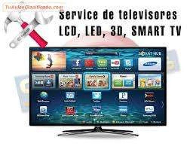 REPARACION DE TELEVISORES, LCD, LED