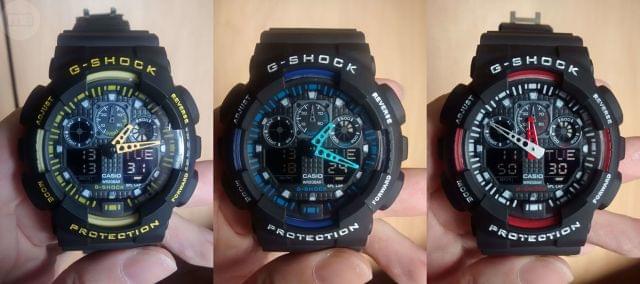Mano com G Anuncios Casio Segunda Relojes Shock Anuncios Mil Y ZiOwkTPXu