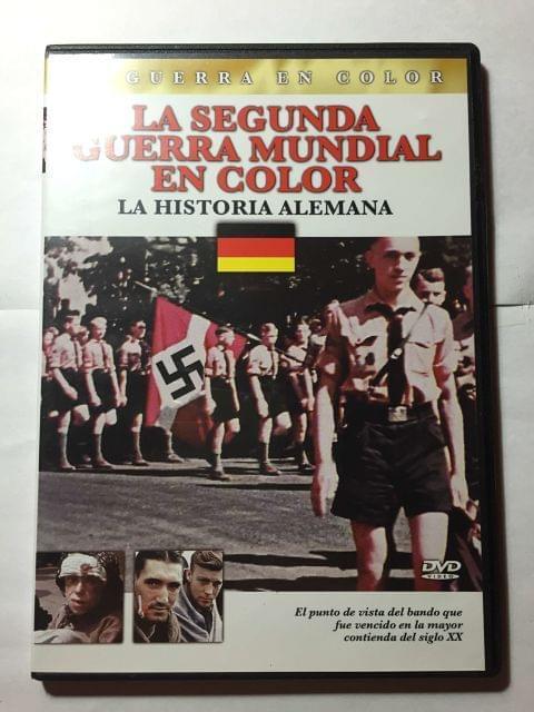 DVD LA SEGUNDA GUERRA MUNDIAL EN COLOR
