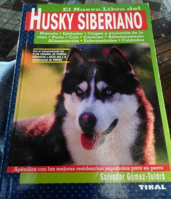 EL NUEVO LIBRO DEL HUSKY SIBERIANO: