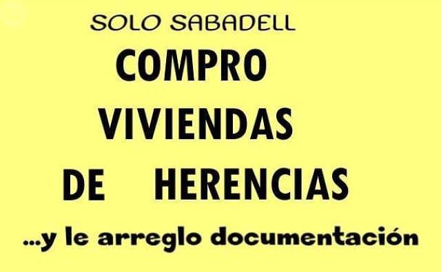 COMPRO PISOS - DE HERENCIAS - foto 1
