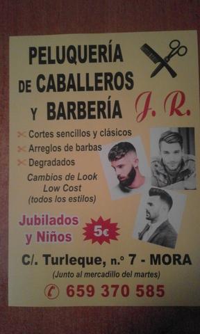 PELUQUERÍA Y BARBERÍA EN MORA - foto 2