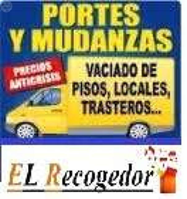 RECOGIDA MUEBLES VACIADOS REFORMAS
