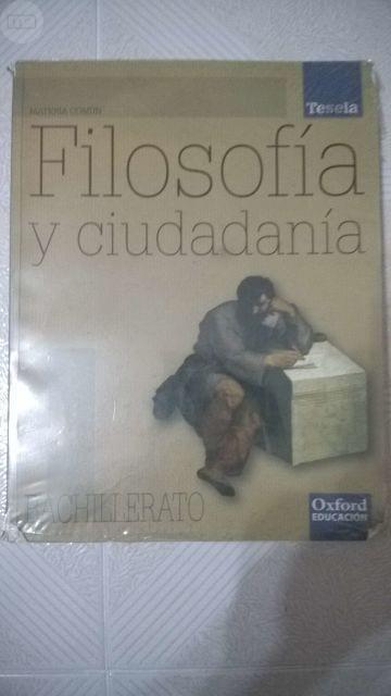 LIBRO FILOSOFÍA Y CIUDADANÍA 1º BACH