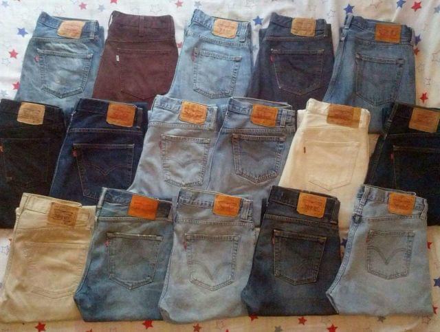 Mil Anuncios Com 12 Pantalones Originales Levis 501