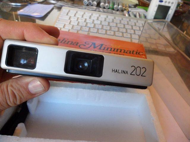 Maquina De Fotos Halina Minimatic