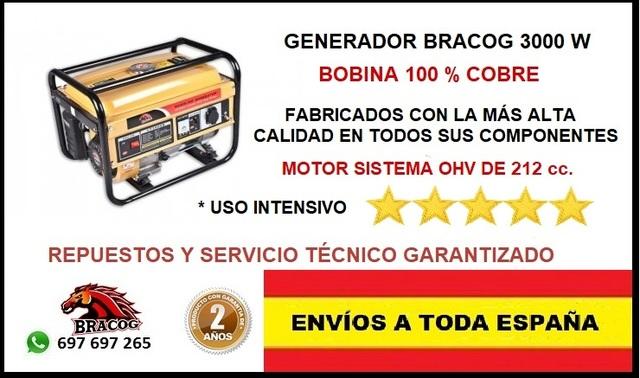 GENERADOR ELECTRICO TRIFASICO A GASOLINA
