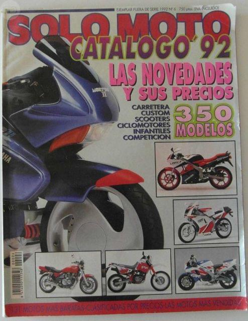 REVISTA SOLO MOTO Nº 6 1992