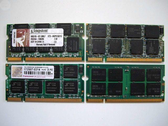 MEMORIA DE 1 GB.  DDR333,  PC2700 - foto 1