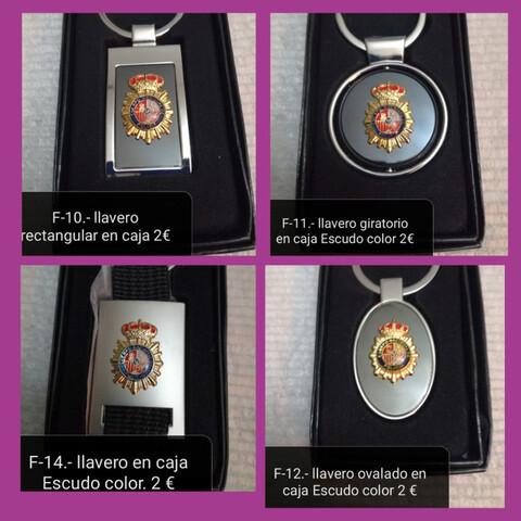 Policia Nacional Insignias Y Llaveros