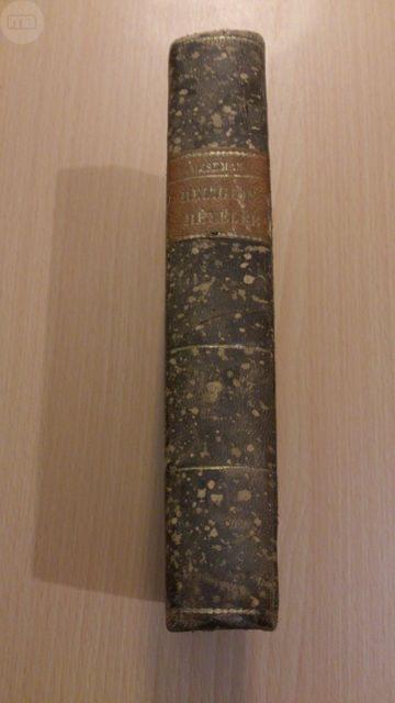 Libro Antiguo De 1845