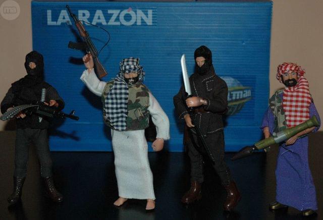 MADELMAN MDE LOTE 4 VILLANO TERRORISTAS