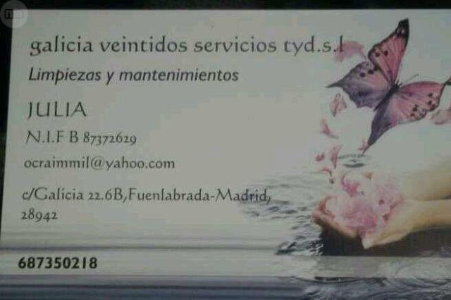 SERVICIOS DE LIMPIEZA POR HORAS