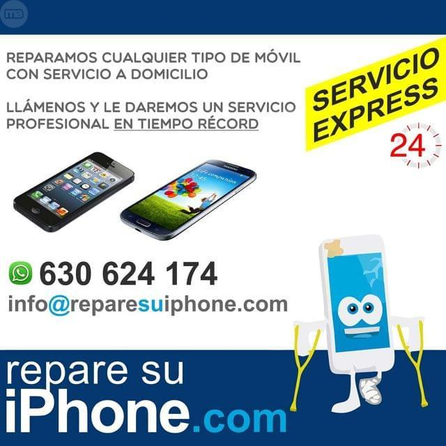 REPARACION HOY DOMICILIO IPHONE 5, 6, 6S, 7