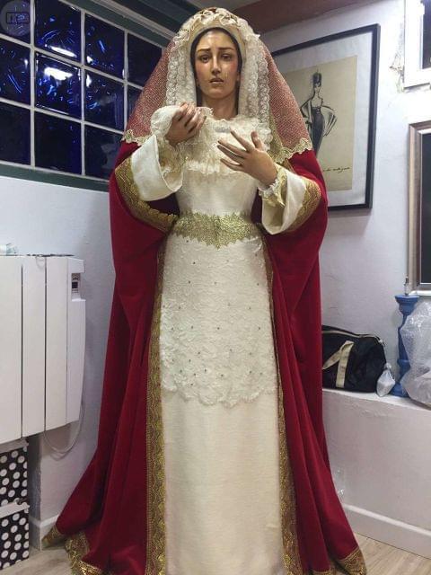 Madera Dolorosa Virgen Para Para Madera Vestir Virgen Dolorosa Vestir lJT1FKc35u