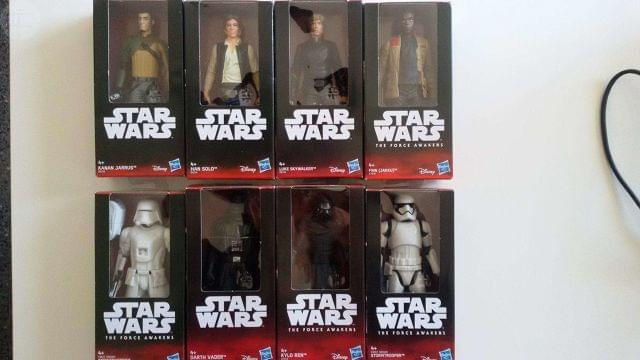 Vendo 8 Figuras/Muñecos Star Wars