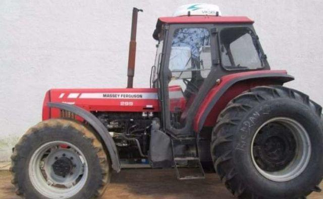 TRACTOR MASSEY 299 - ADVANCE CABINA