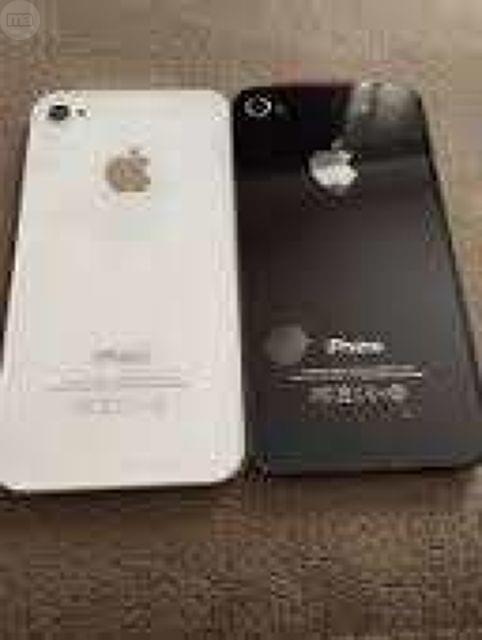 TAPA TRASERA CRISTAL IPHONE 4 4S