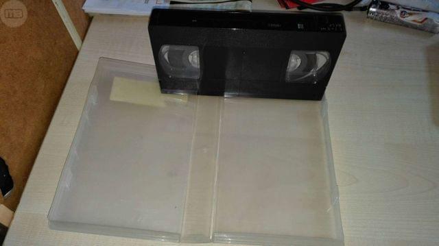 FUNDA TRANSPARANTE+CINTA VHS BASF 240MI.  - foto 3