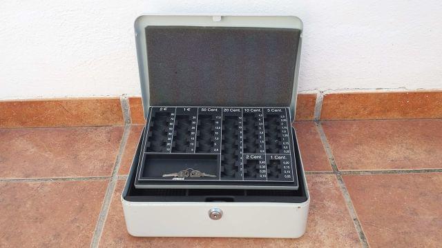 Joma Vintage-Caja de caudales n/º 3 Color Aluminio