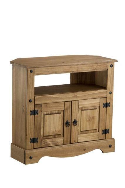 Muebles, esquinero de madera de segunda mano