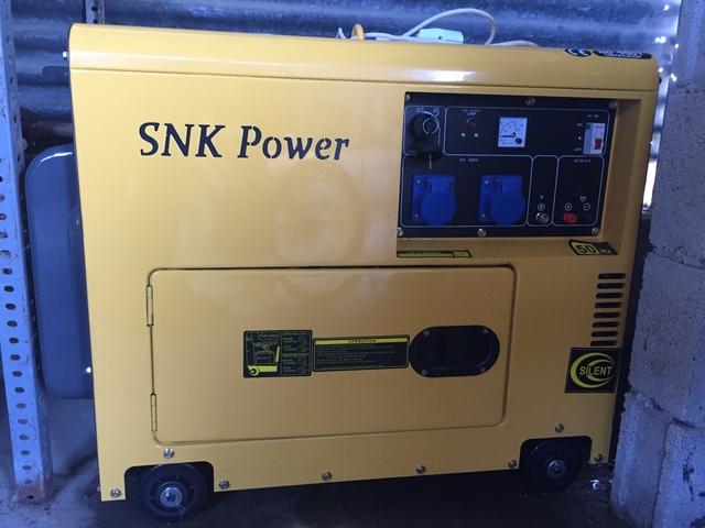 GENRADOR SNK POWER INR DIESEL MONOFASICO - foto 6