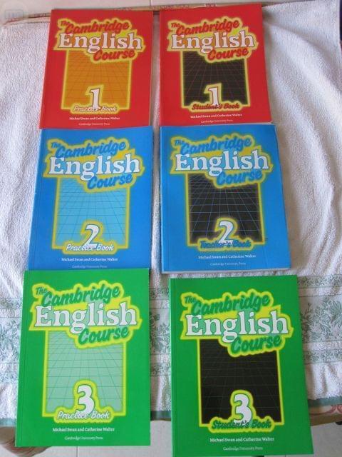 THE CAMB RIDGE ENGLISH COURSE,  6 TOMOS - foto 1