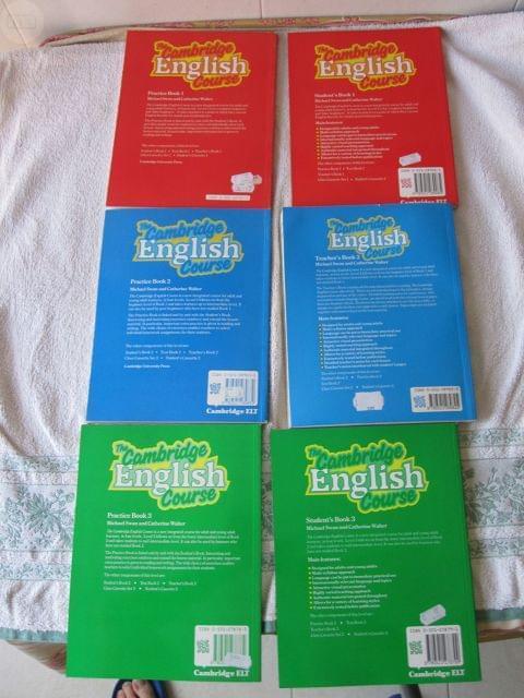 THE CAMB RIDGE ENGLISH COURSE,  6 TOMOS - foto 2