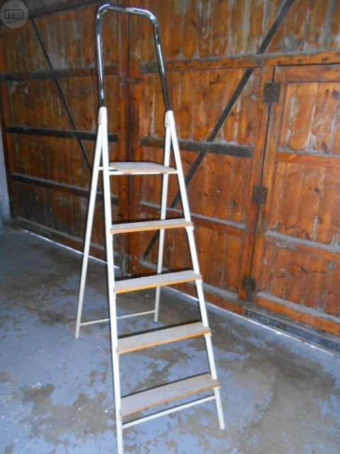 Escalera  5 Peldaños  Vintage