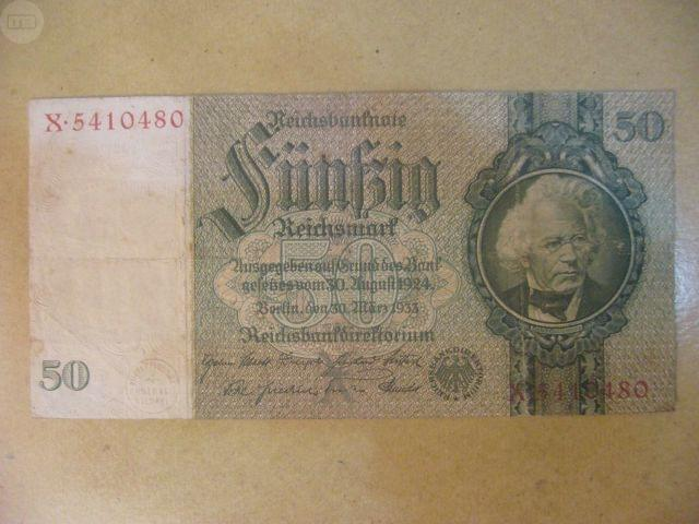 Billete Aleman 1924